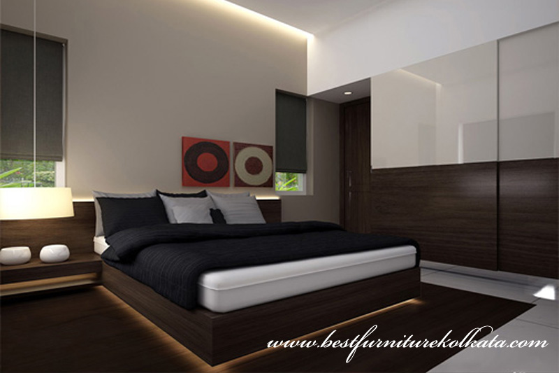 Reasonable Price Bedroom Furniture Interior Design Kolkata