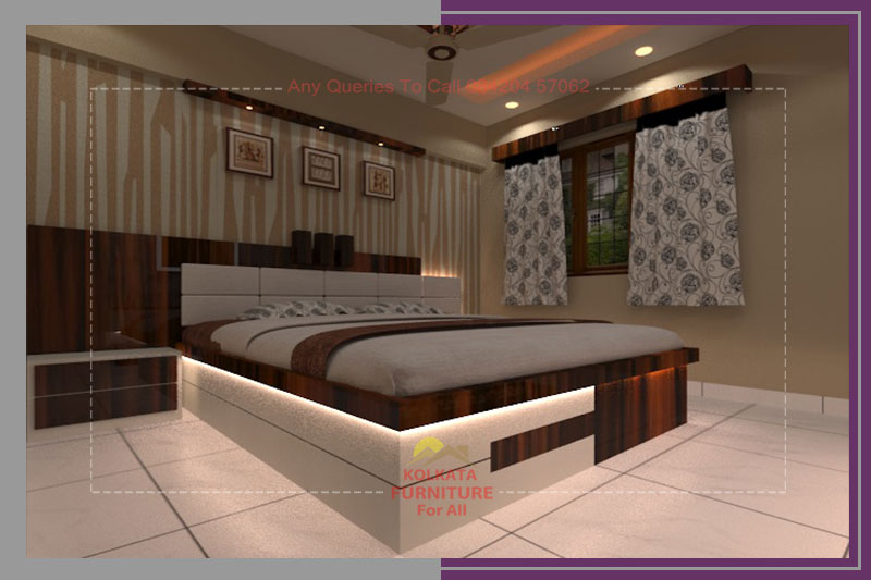 Reasonable Price Bedroom Furniture Interior Design Kolkata