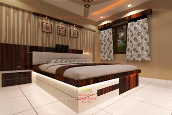Reasonable Price Bedroom Furniture, Interior Design Kolkata