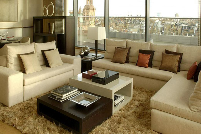 Living Room Furniture Interior Designing Kolkata West Bengal