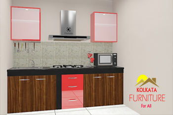 modular kitchen cabinets in laketown kolkata