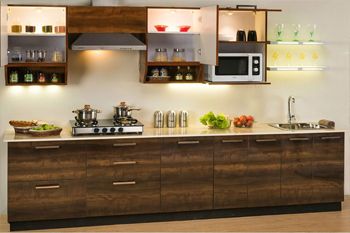 Top straight modular kitchen cabinets manufacturer north kolkata
