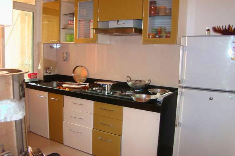 Straight Modular Kitchen Cabinet Manufacturer Kolkata Furniture