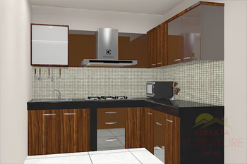 L Shaped Kitchen Cabinets Price Kolkata