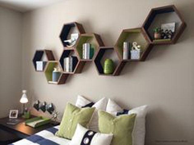 Living Room Bedroom Office Wall Shelves In Kolkata