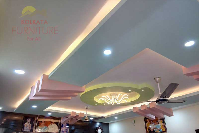 Living Room False Ceiling Manufacturer Kolkata Furniture